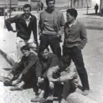 007 Misa s drugovima u Uzicu - sede s leva - Misa Stanisavljevic, Milivoje Rsumovic, .., stoje -