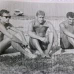 013 Misa, Ivan rastegorac i Petar Cvetkovic na plazi u Zemunu