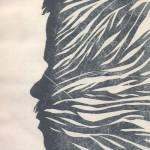 052 Autoportret, linorez, Novi ritmovi